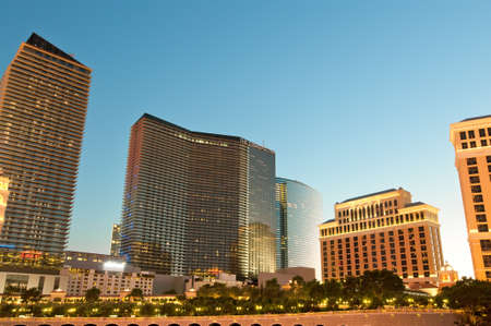 Night scenes from Las Vegas Stock Photo - 11565033
