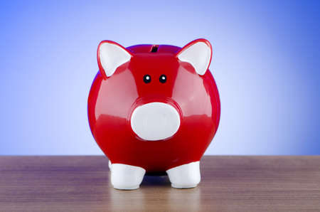 Piggy bank in business concept Stock Photo - 11572462