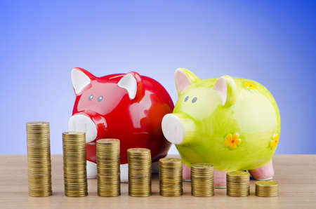 Piggy bank in business concept Stock Photo - 11572166