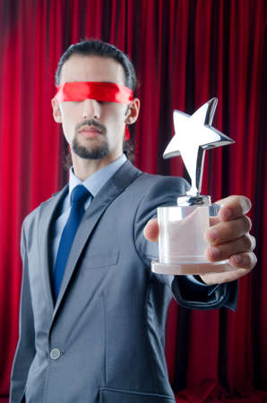 blinded: Businessman awarded with star award