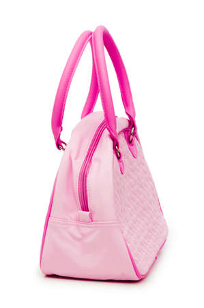 Woman accessory - stylish bag on white Stock Photo - 12108621