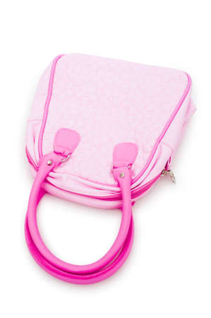 Woman accessory - stylish bag on white Stock Photo - 12108641