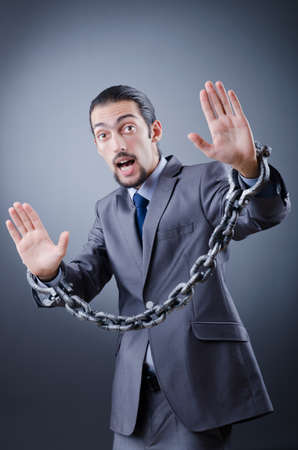Man arrested for this crimes Stock Photo - 12123212
