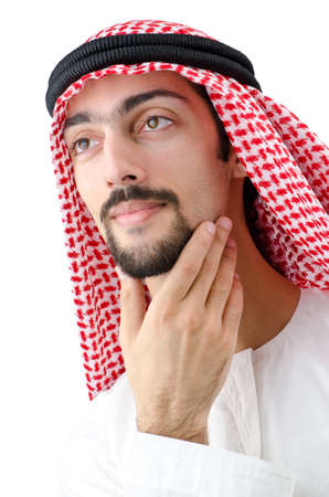 Diversity concept with young arab Stock Photo - 12130714