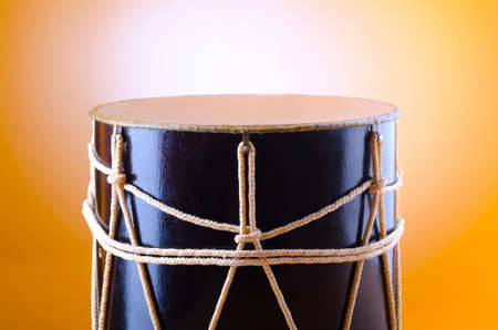 Traditional azeri drum called nagara Stock Photo - 12110262