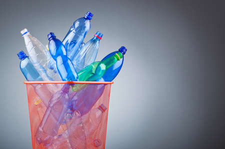 Concept of recycling with plastic bottles Stock Photo - 12228507