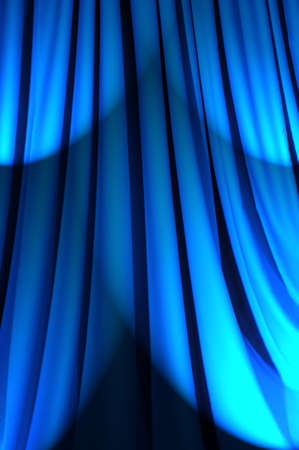 Brightly lit curtains in theatre concept Stock Photo - 12228839