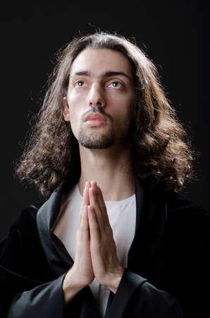 jesus face: Personification of Jesus Christ