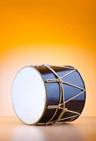 Traditional azeri drum called nagara photo