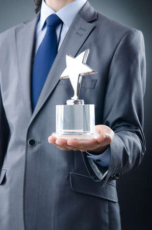 Businessman awarded with star award
