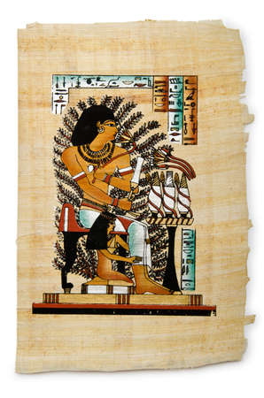 Egyptian papyrus as a background Stock Photo - 12227890