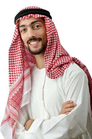 hombre arabe: Diversidad concepto con el joven �rabe