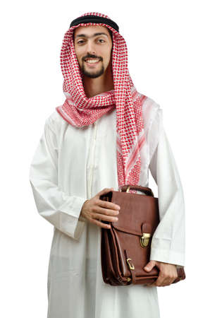 Diversity concept with young arab Stock Photo - 12395248