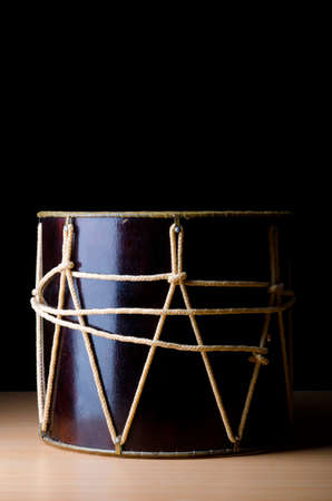 Traditional azeri drum called nagara Stock Photo - 12346950