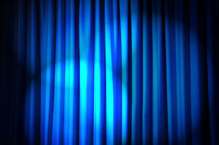 brightly: Brightly lit curtains in theatre concept