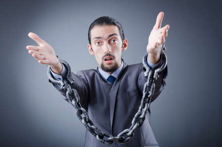 Man arrested for this crimes Stock Photo - 12395450