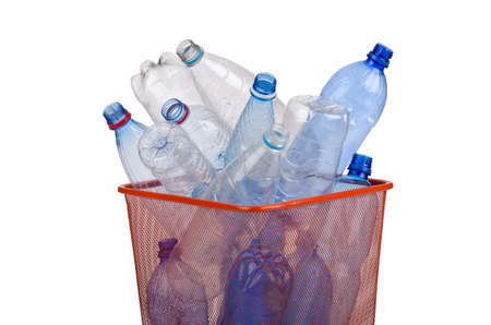 Plastic bottles in recycling concept Stock Photo - 12347431