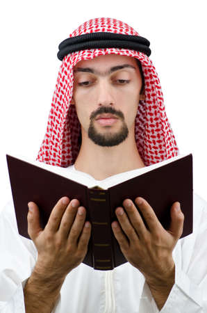 Education concept with young arab Stock Photo - 12471667