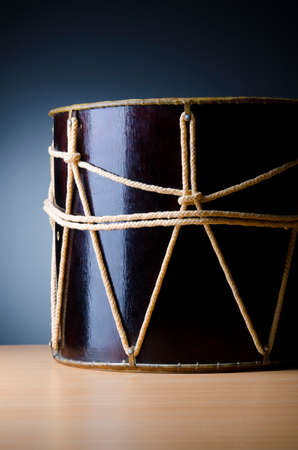 Traditional azeri drum called nagara Stock Photo - 12346065