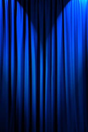 Brightly lit curtains in theatre concept Stock Photo - 12349441
