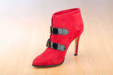 Woman shoes in the fashion concept Stock Photo - 12346200