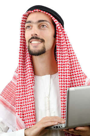 Diversity concept with young arab Stock Photo - 12556399