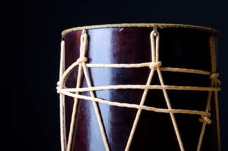 drum and bass: Traditional azeri drum called nagara
