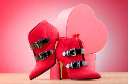 Woman shoes in the fashion concept Stock Photo - 12522533
