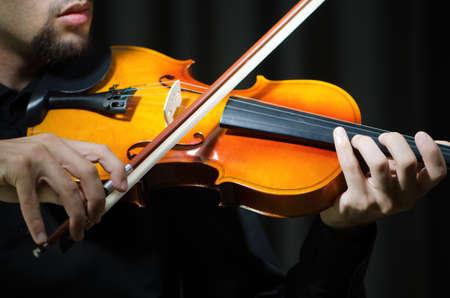fiddler: Fiddler playing the violin