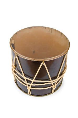 Azeri traditional drum nagara on white Stock Photo - 12510770