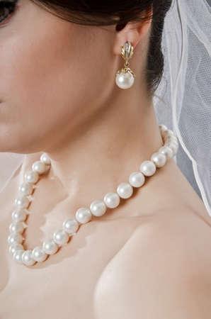 Bride in wedding dress in studio shooting Stock Photo - 12516712