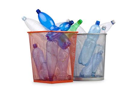 Kunststoff-Flaschen in Recycling-Konzept Stockfoto - 12531209
