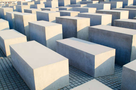Holocaust memorial in Berlin Stock Photo - 12580669