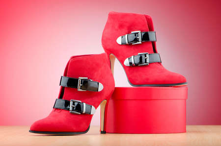 fashion shoes: Woman shoes in the fashion concept