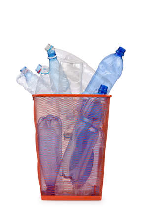 Plastic bottles in recycling concept Stock Photo - 12581093