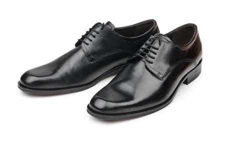 tacones negros: Los zapatos del hombre en concepto de moda
