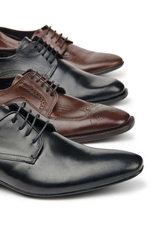 Male shoes in fashion concept Stock Photo - 12714476