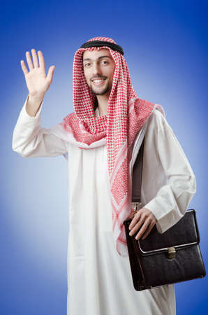 Arab businessman in studio shooting Stock Photo - 12740224