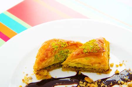piecies: Traditional turkish sweet dessert