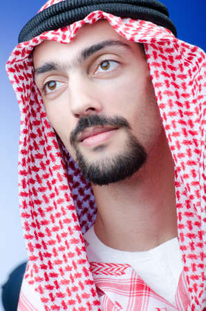 Portrait of young arab Stock Photo - 12873385