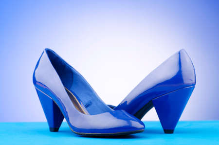 Woman shoes in the fashion concept Stock Photo - 12798906