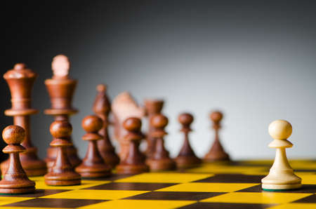 piecies: Chess concept with various pieces