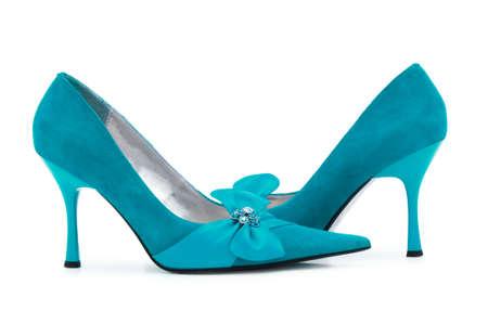 opentoe: Female shoes on white background