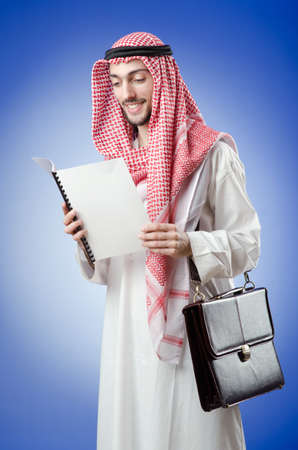 Arab businessman in studio shooting Stock Photo - 13261473