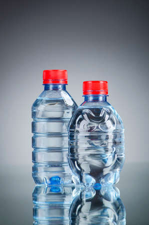 Water bottles as healthy drink concept Stock Photo - 13221411