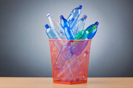 Concept of recycling with plastic bottles Stock Photo - 13303597