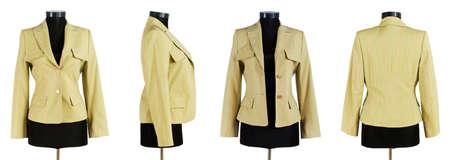 Stylish clothing isolated on the white background Stock Photo - 13523261