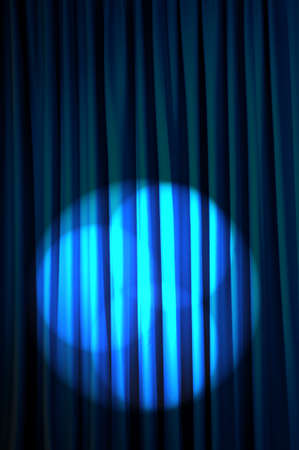 Brightly lit curtains in theatre concept Stock Photo - 13523025