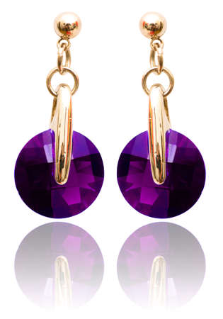 earring: Jewellery and fashion concept with earrings