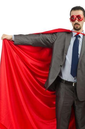 Superman isolated on the white background Stock Photo - 13867974